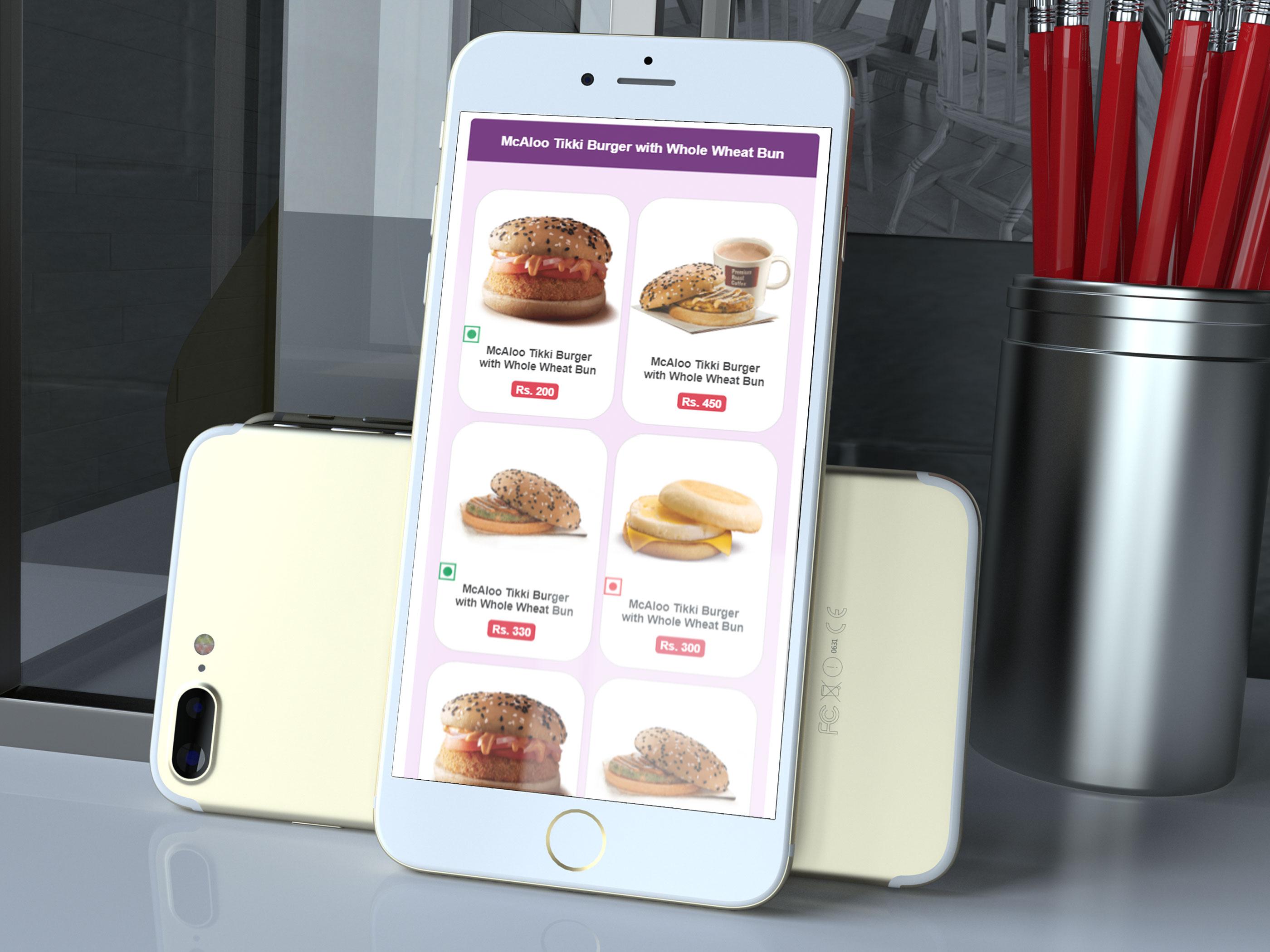 Tulsi Digital Menu Restaurant